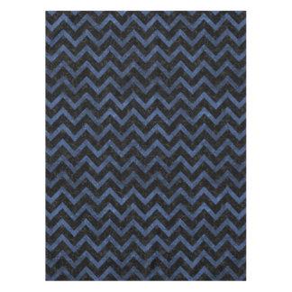 CHEVRON9 BLACK MARBLE & BLUE STONE TABLECLOTH