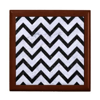 CHEVRON9 BLACK MARBLE & WHITE MARBLE (R) GIFT BOX