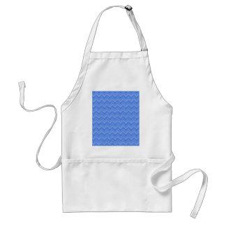 Chevron 03 zigzag, blue aprons