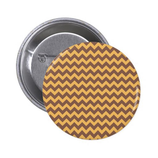 Chevron Beeswax Color And Coffee Brown Pins