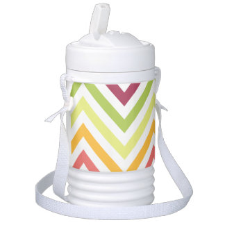 Chevron Beverage Cooler