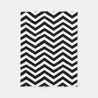 Chevron Black and White Blanket