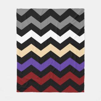 Chevron Colour Combination Fleece