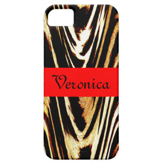 Chevron Cool Zigzag of Tiger Chic Back to School iPhone 5 Covers