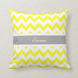 Chevron Custom Name Pillow Cushion