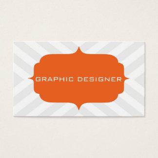 Chevron Design Business Card