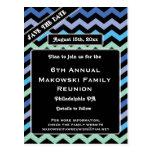 Chevron Design-Reunion, Event, Party Save the Date