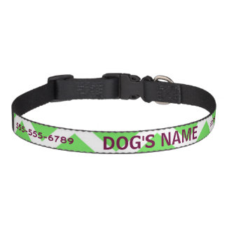Chevron Dog Collar