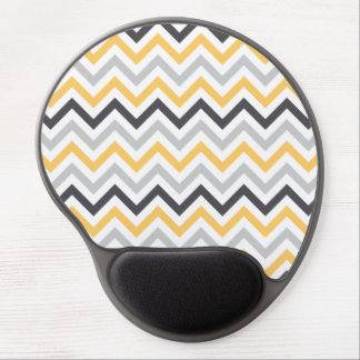 Chevron Ergonomic Wrist Support Gel Mousepad