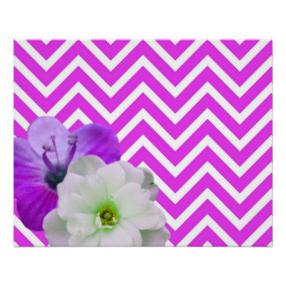 chevron Flower mix lilac