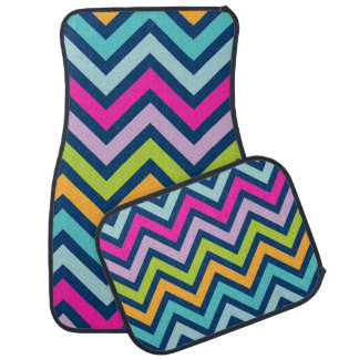 Chevron Fun Car Mat