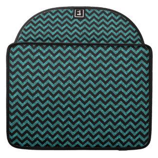 Chevron Glitter Look MacBook Pro Sleeve