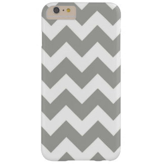 Chevron-Gray Iphone6+ Barely There iPhone 6 Plus Case