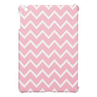 Chevron iPad Mini Case - Cherry Blossom Pink