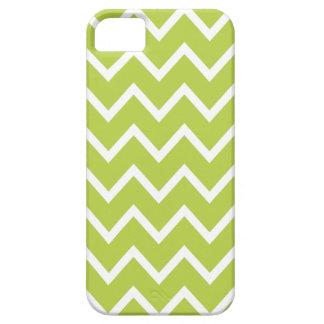 Chevron iPhone 5 Case in Tender Shoots Green