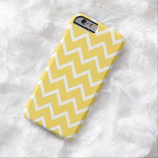 Chevron iPhone 6 case in Lemon Yellow Barely There iPhone 6 Case