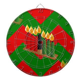 chevron kwanzaa dart boards