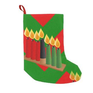 chevron kwanzaa xmas christmas stocking