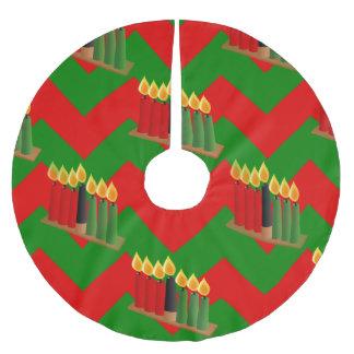 chevron kwanzaa xmas christmas tree skirt