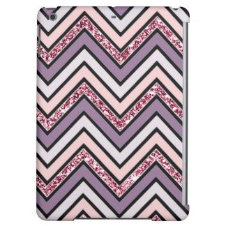 Chevron Lavender Pink & White