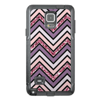 Chevron Lavender Pink & White OtterBox Samsung Note 4 Case