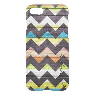 Chevron Modern Wood #7 iPhone 7 Case