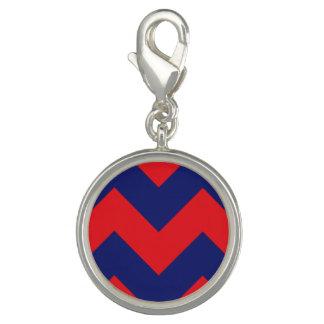 Chevron   Navy Blue & Red   Any Type/Size   Custom