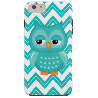 Chevron Owl iPhone 6 Plus tough case