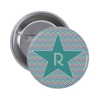 Chevron Pattern custom button