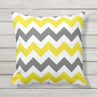 Chevron Pattern Design Outdoor Cushion