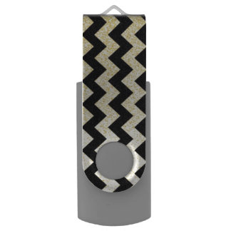 Chevron Pattern USB Flash Drive