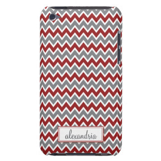 Chevron Pern (maroon) iPod Touch Cover