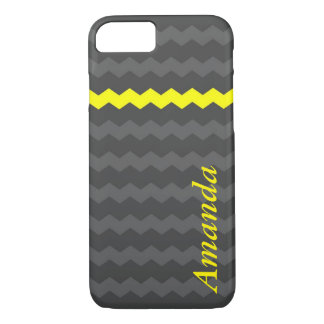 Chevron phone case with personalized name