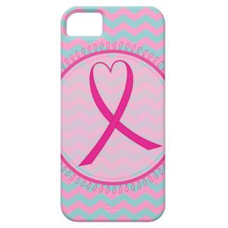 Chevron Pink Ribbon iphone 5 Case