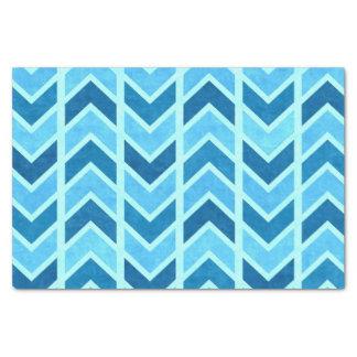 Chevron Royal Sapphire Tissue Paper