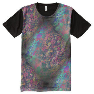 Chevron Shirt - Customize Color All-Over Print T-Shirt