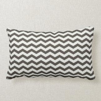 Chevron Stripe Black/White American MOJO Pillow