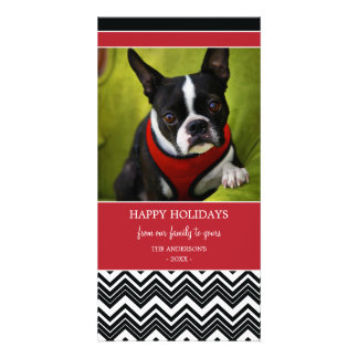 CHEVRON STRIPES | HOLIDAY PHOTO CARD