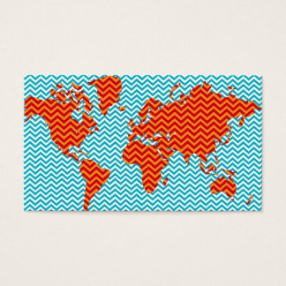 Chevron World Business Card
