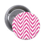 Chevron Zig Zag Pink Pins