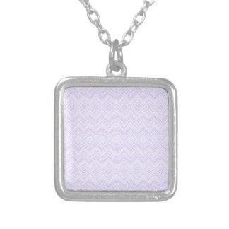chevron zigzag pattern light lilac custom jewelry
