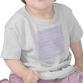 chevron,zigzag,pattern light lilac shirt