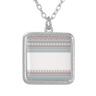 chevron,zigzag, peach.jpg pendant