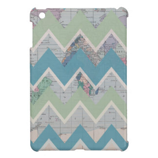Chevrons Call and the World Answers iPad Mini Cover