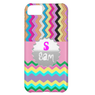 Chevrons Pattern Shower Party Office Love Destiny iPhone 5C Case