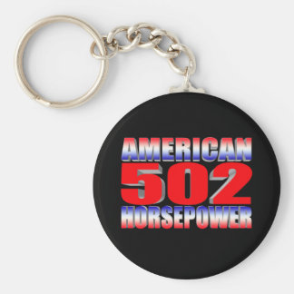 Chevy 502 big block Muscle Car Key Chain