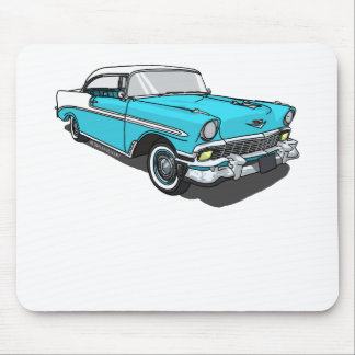 Chevy Bel Air - Blue Mouse Pad