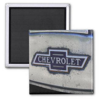 Chevy Bowtie Square Magnet