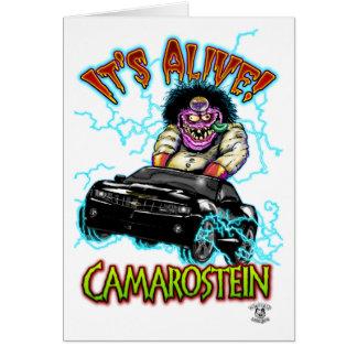 Chevy Camaro Black SS Card