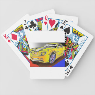 Chevy Camero Bicycle Playing Cards